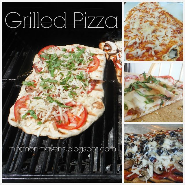 Grilled Pizza | Food Recipes / Sweets | Pinterest