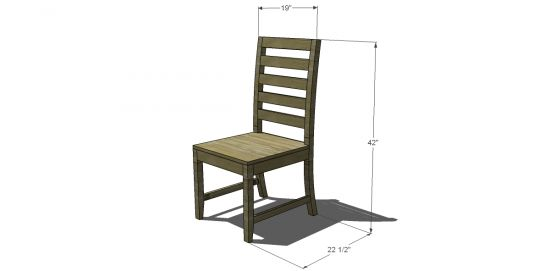 Dining Chair Plan Hhhhh Pinterest