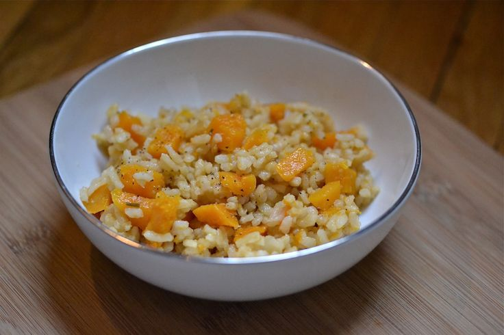 Baked Butternut Squash Risotto | Stuff I want to cook... | Pinterest