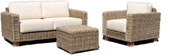 Kwaliteits rotan lounge stoel.  New home  Pinterest