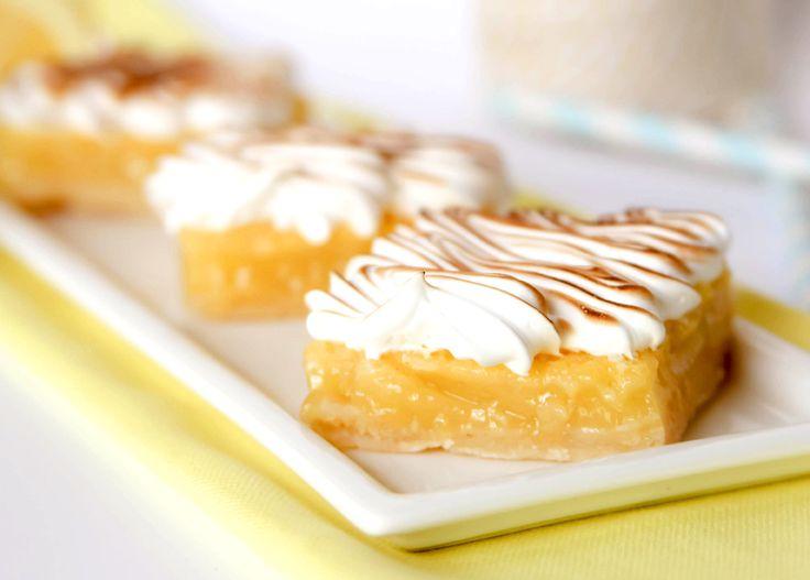 Lemon Meringue Pie Bars | All Things Lemon | Pinterest