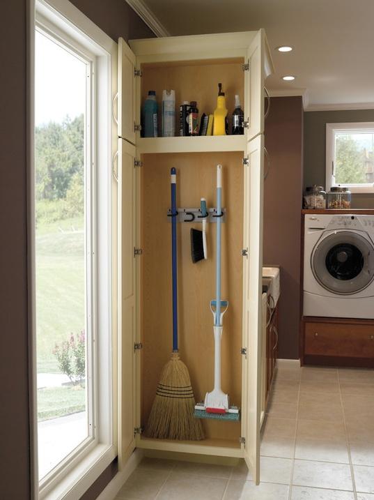 Broom Closet Ideas Interior Design Pinterest