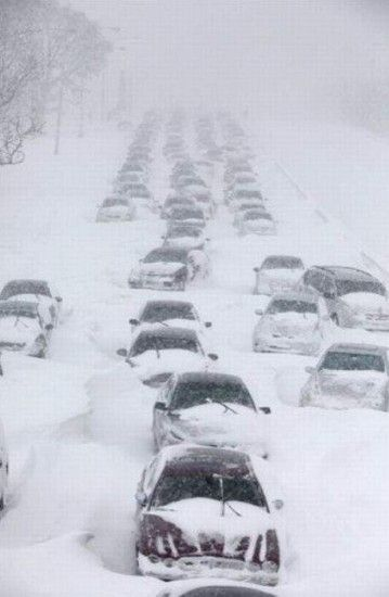 Amazing Pictures Of 2011 Chicago Snow Storm