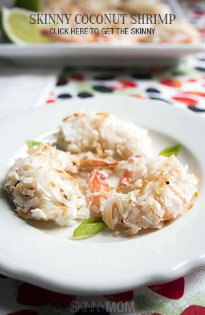 Skinny Coconut Shrimp | Recipe