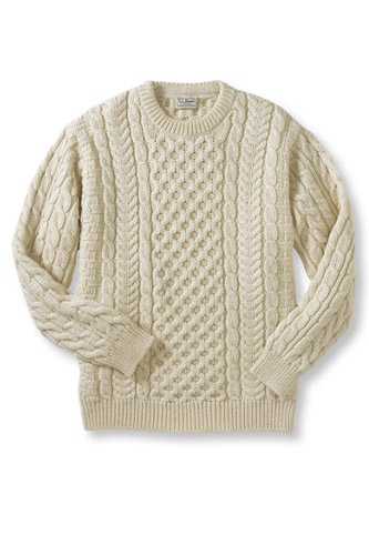 L.L.Bean Heritage Sweater, $139, available at L.L.Bean.