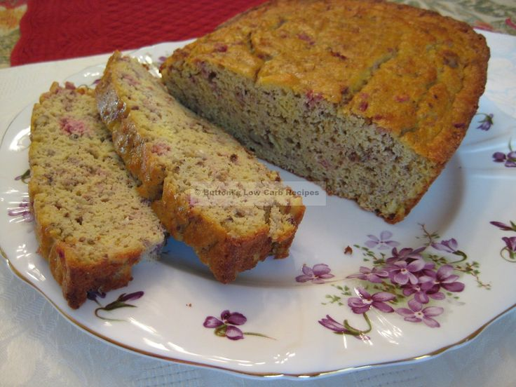 Cranberry-Orange Nut Bread from Buttoni's Low Carb