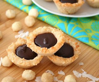 Chocolate Macadamia Coconut Tarts (Low Carb and Gluten-Free) | All Day ...