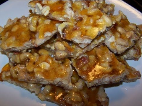 Bacon Peanut Brittle | WEDDING DECOR IDEAS | Pinterest