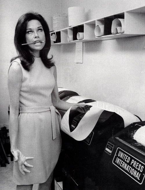 Mary Tyler Moore.