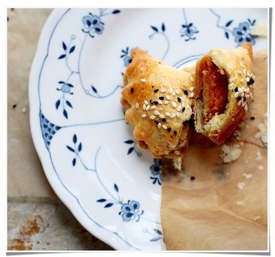 pumpkin & goat cheese pocket pies. | DIY | Pinterest