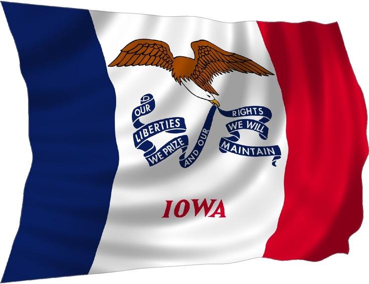 iowas state flag