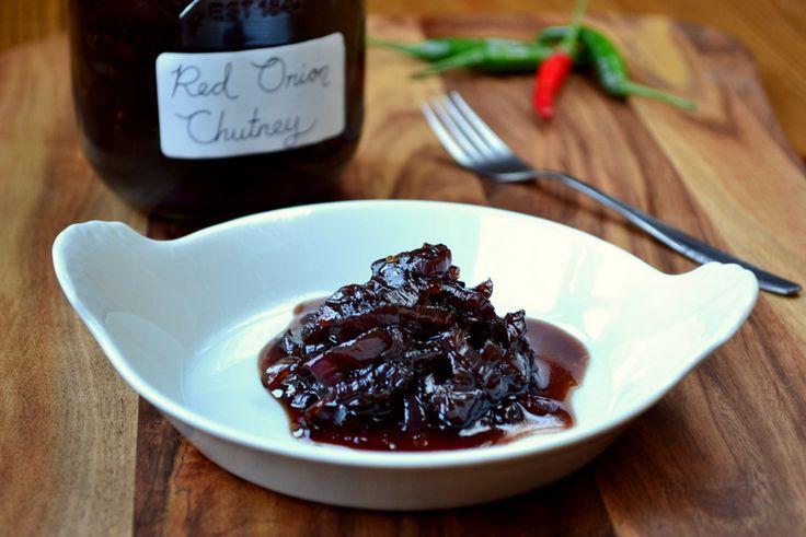 Red Onion Chutney Recipe | Jams, chutneys, salsas and sauces | Pinter ...