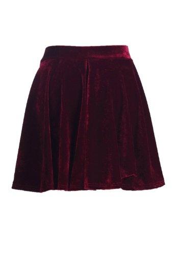 Womens Velvet Skirt 53