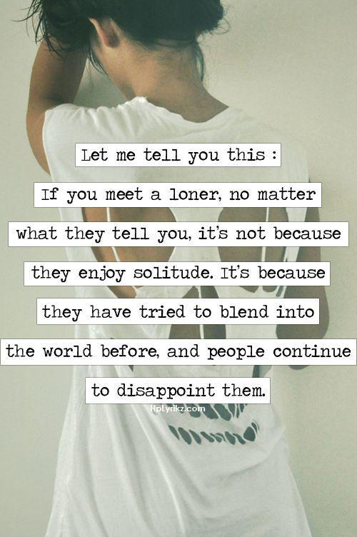 Im A Loner Quotes. QuotesGram