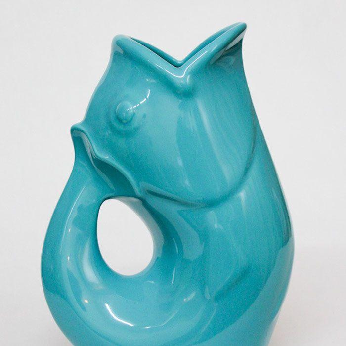 Aqua gurgle pot water jug fish vase spring 2015 pinterest - Fish pitcher gurgle ...