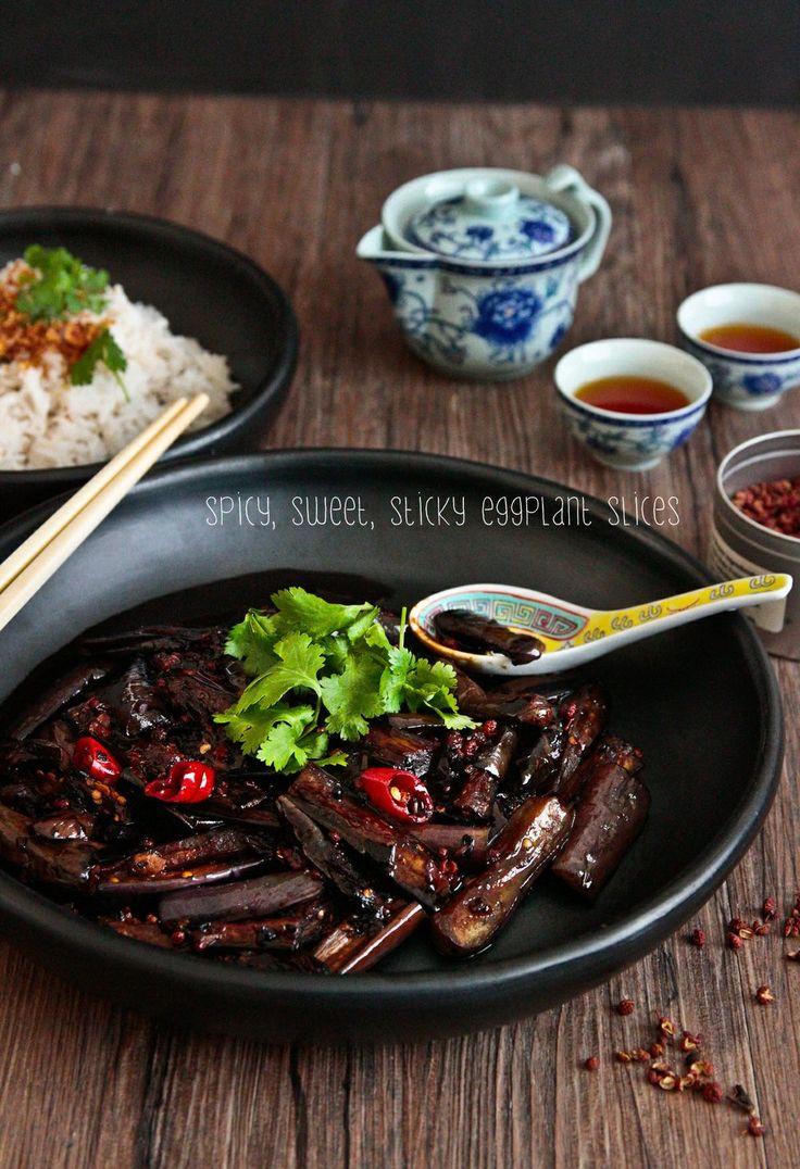 Sichuan Eggplant | Vegetarian Recipes | Pinterest