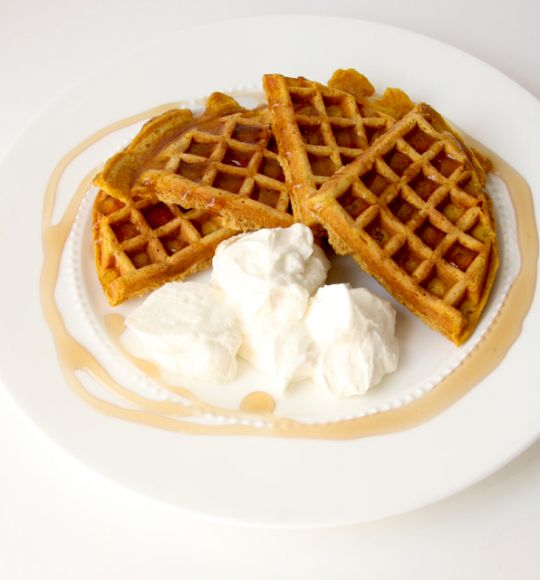 Pumpkin Waffles | Recipes to Try | Pinterest
