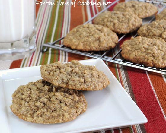 Maple-Cinnamon Oatmeal Cookies | Yummy Food! | Pinterest