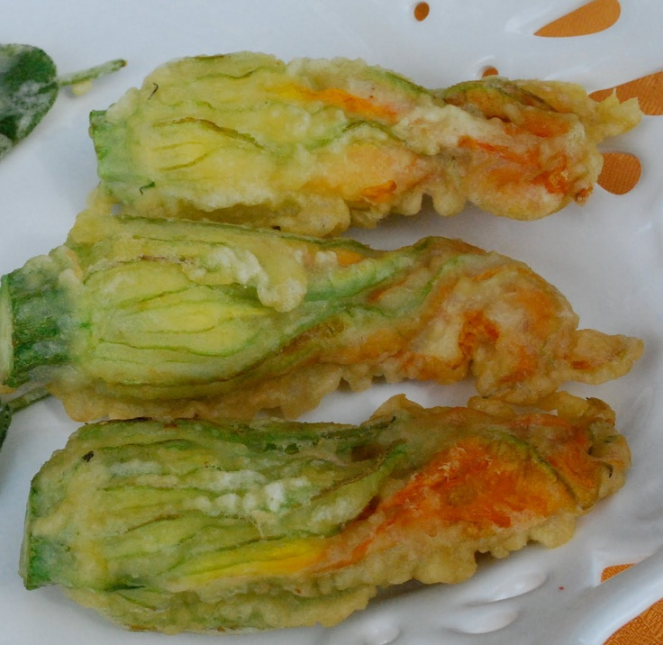 Crispy Fried Zucchini Blossoms Recipe — Dishmaps