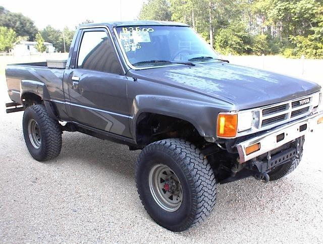 1988 Toyota 4x4 Toyota 4x4 Pinterest
