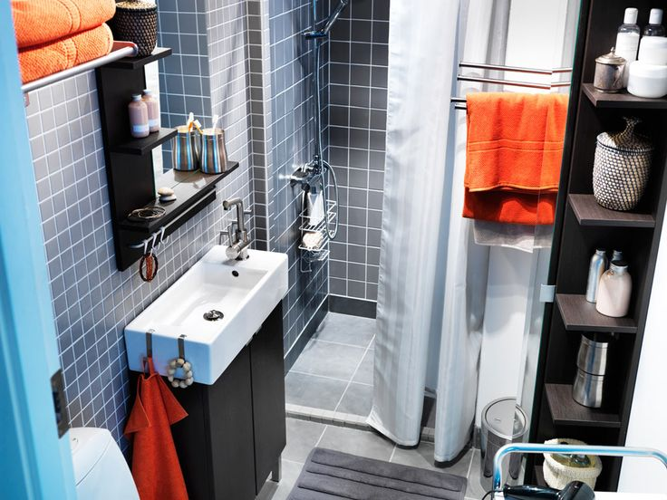 Perfect sink for small bathrooms ikea small bathroom for Ikea small bathroom designs