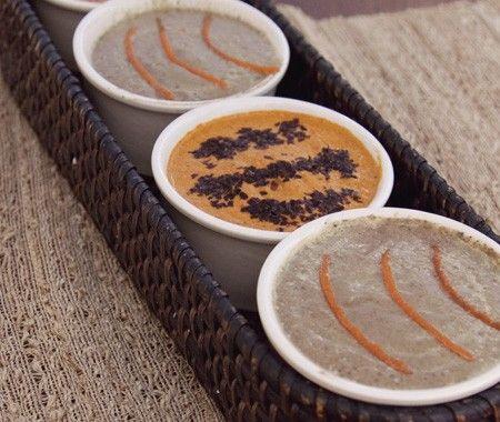 Creamy Carrot-Ginger Soup Recipe | Yummy Yum Yum | Pinterest