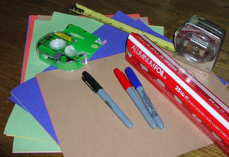 How To Make Your Own Aluminum Foil Backsplash
