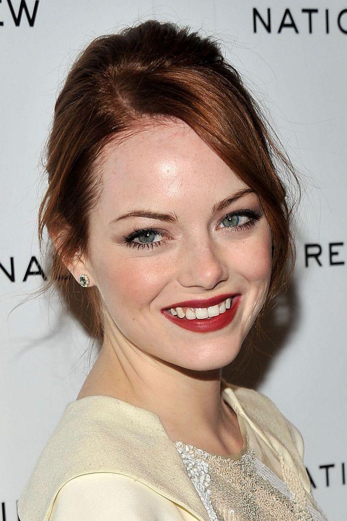 Emma Stone - wonderful makeup