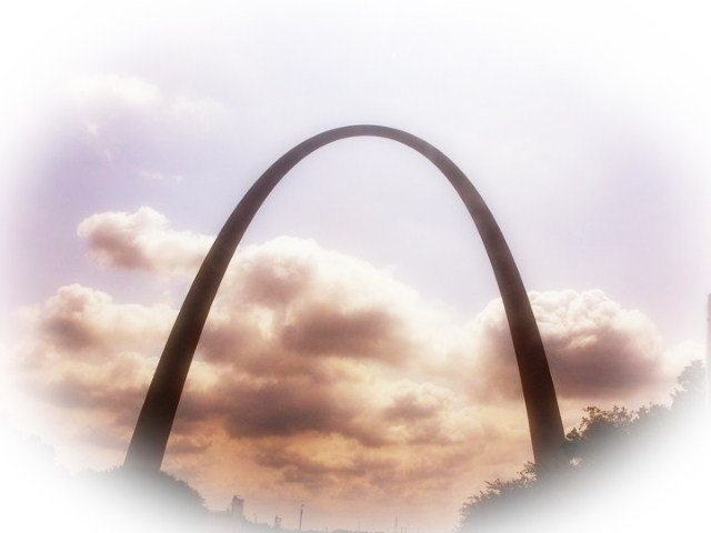 """""""I took this photo of the Gateway arch on a family vacation back in 2010 when we went to Missouri, Today i am very grateful for all the family vacations i have been blessed with. I am from Ohio and lived here all my life so i have seen everything here, so i am very thankful my parents take the time to take me out of state and show me these beautiful sites of the great country i live in. Thanks mom and dad!  Megan, age 17 from ohio 3 july, 2012"""