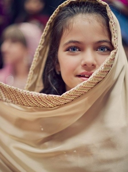 Beautiful girl from The Beauty of Hijabs