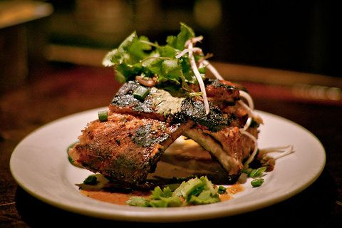 Mike LaSage's Thai style baby back ribs are one of his favorite dishes ...