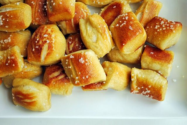 Soft Pretzel Bites | recipes | Pinterest