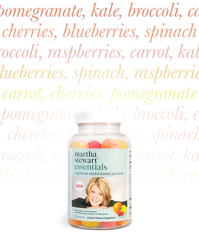 Introducing the new Martha Stewart Essentials Vegetarian Multivitamin Gummies! These preservative and gluten free supplements are a delicious way to help you live a healthy and balanced life. #marthastewartessentials #vegetarian #glutenfree #healthyliving