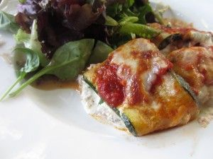 Noodle-less zucchini lasagna... Full of summer veggies! Www ...