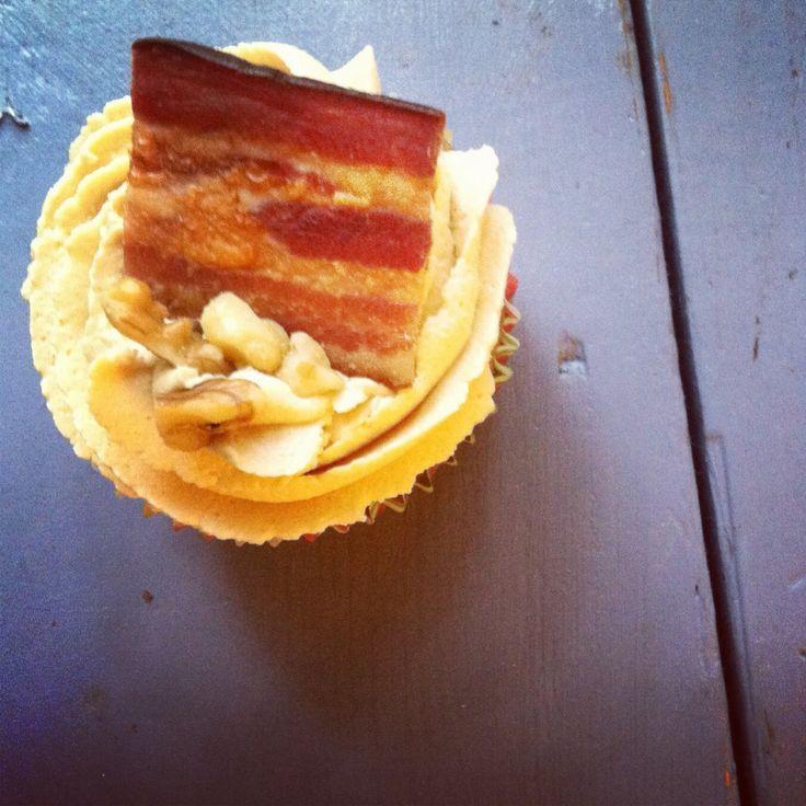 Banana peanut-butter bacon cupcakes! | Cupcakes!!!!! | Pinterest