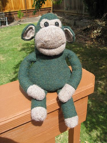 Knitting Pattern For Pg Tips Monkey : Pin by Kate Wolicki on Knitting Pinterest