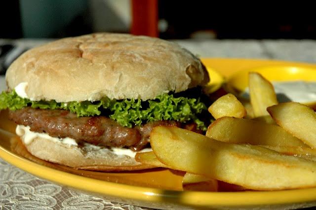 Balkan Burger: The Pljeskavica Burger at Balkan Express