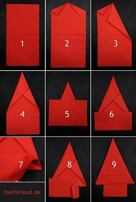 14 Creative Napkin Folding Techniques