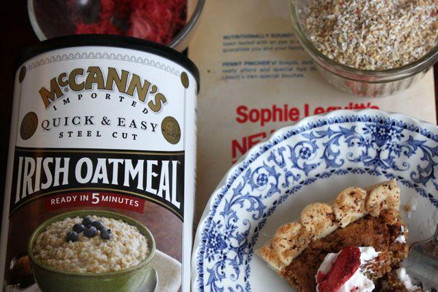 irish coffee oatmeal pie- Grandpa Jack would be proud! :)