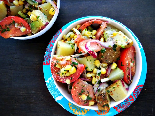 farmer's market potato salad: a fresher take on the classic potato ...