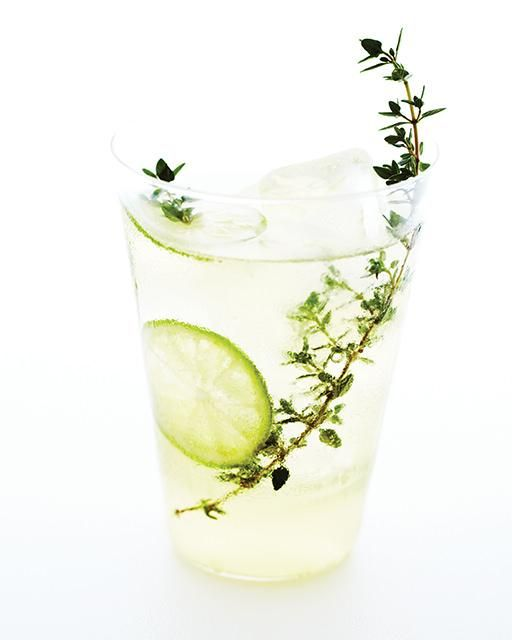 Winter Thyme & Key Lime Cocktail | Recipe