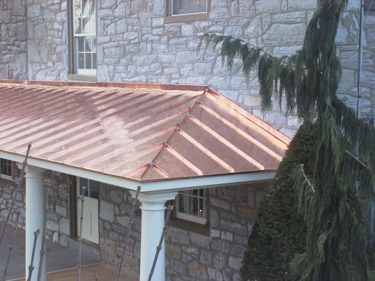 Standing seam copper roof must have nawaka the tiny for Standing seam copper