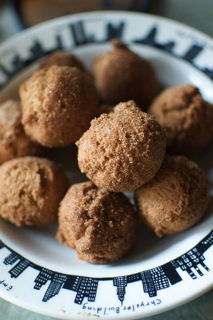 cinnamon doughnut holes, gluten-free | Gluten Free | Pinterest