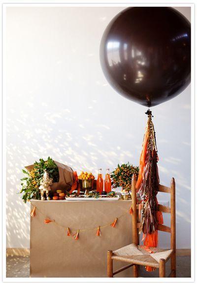 oversized chocolate ballon! #onekingslane