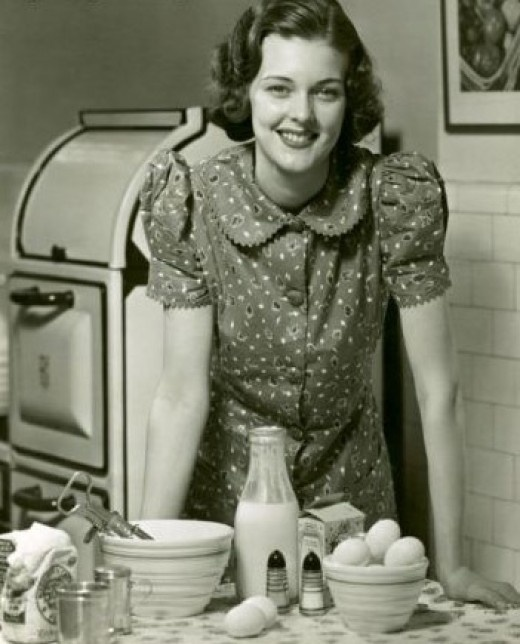 Back in the day i remember pinterest for Classic 50s housewife