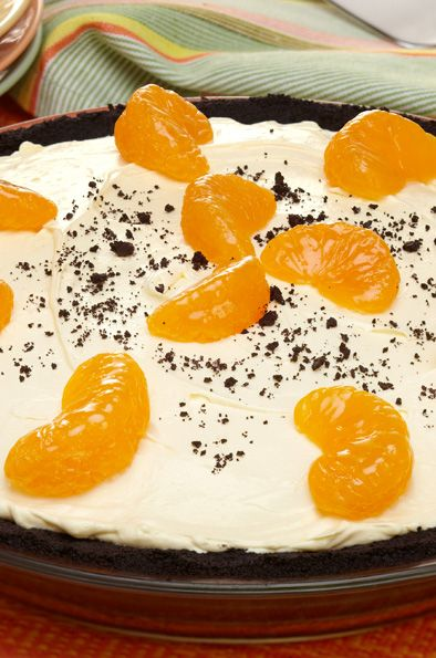 Chocolate Orange Cream Pie | Chocolate Pies | Pinterest