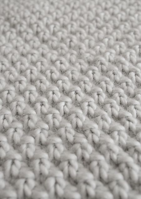 Knitting Double Seed Stitch In The Round : Double seed stitch afghan knitted afghans and pillows Pinterest