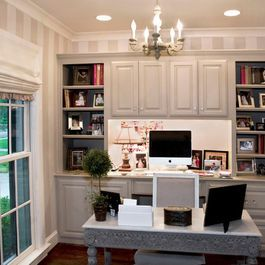 built in desk cabinets home office home office pinterest