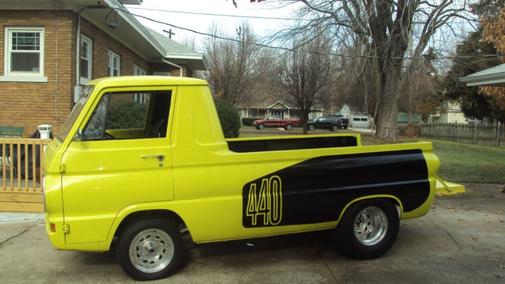 1966 Dodge A100 440 pickup | SLUGGO'S | Pinterest