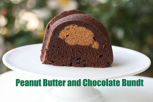 Peanut Butter and Chocolate Bundt Cake | Recipes - Cakes & Pies | Pin ...